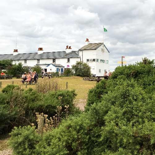 national trust coastguard cottages